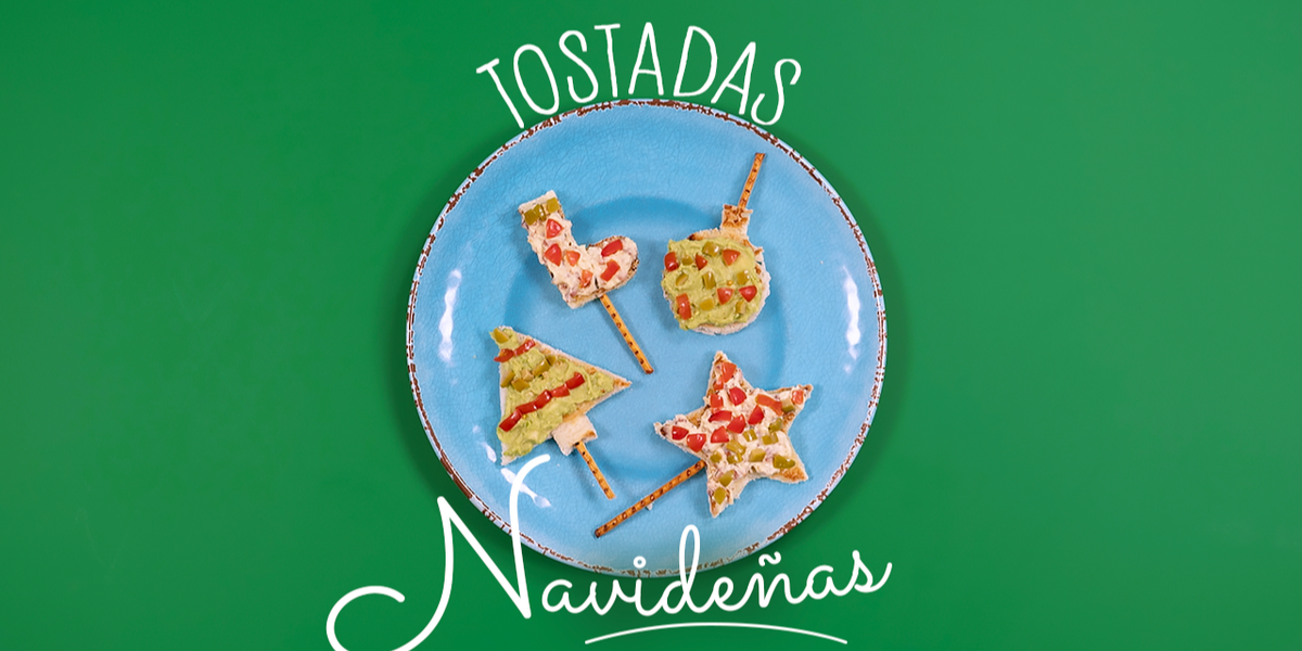 Tostadas Navideñas