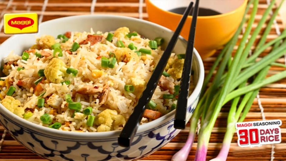 Chicken and Cauliflower fried rice