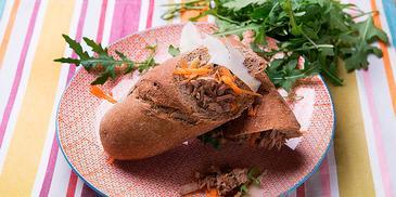 Σάντουιτς με χοιρινό