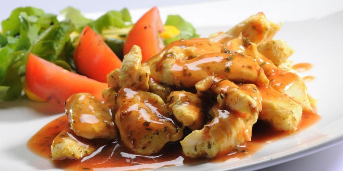Filete de pollo y hierbas