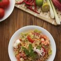Kelantan Kerabu Seafood Fried MAGGI Mee
