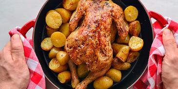 Κοτόπουλο στο φούρνο #pestomenafai