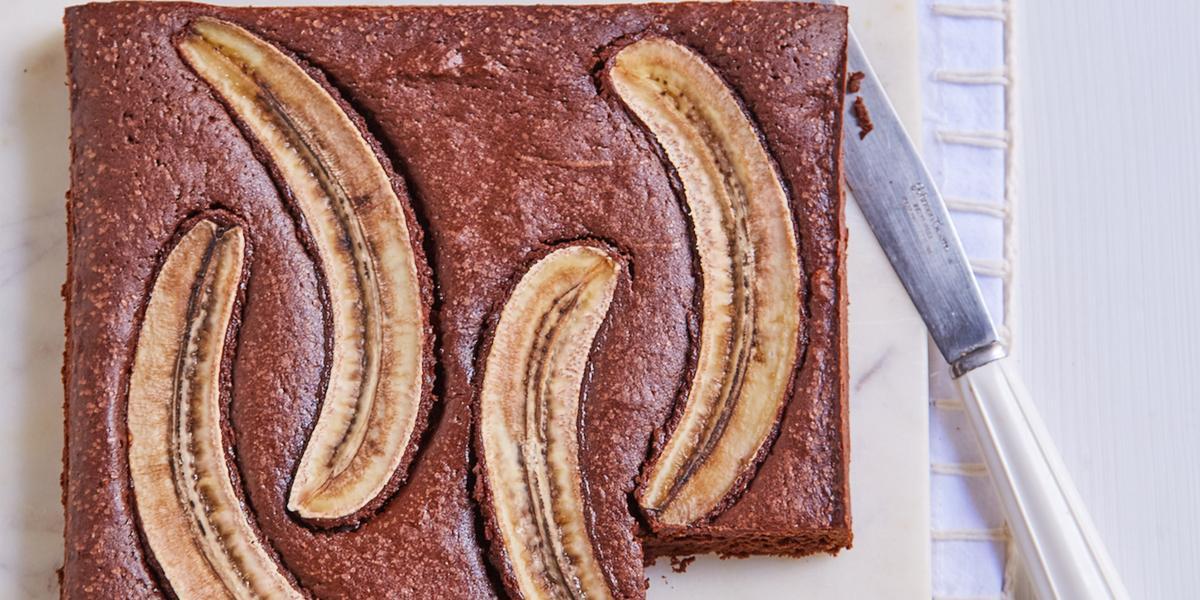 Brownie con Banana