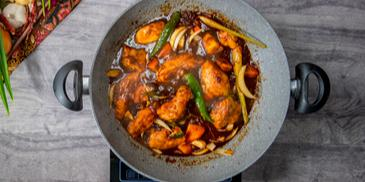 Dark Sauce Chicken