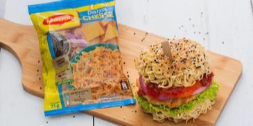 MAGGI Noodle Burger
