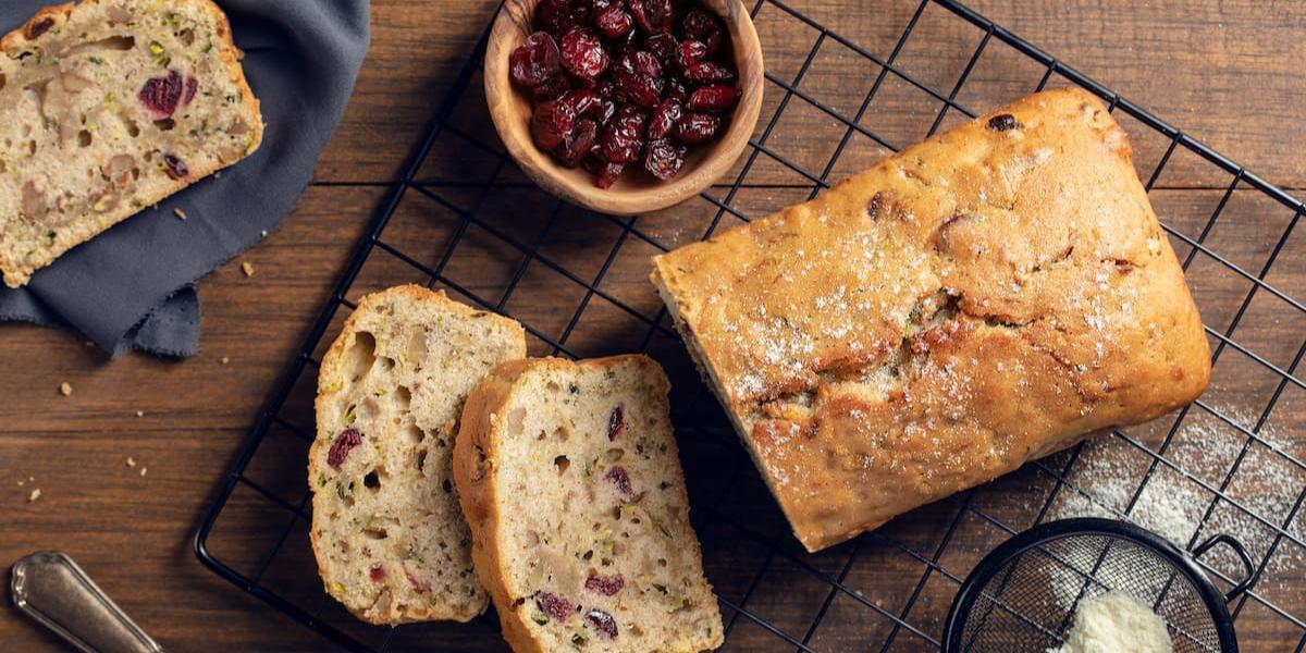 Torta de Zuccini y frutos secos