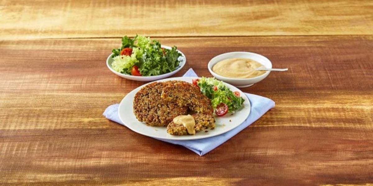 Hamburguesa con quinoa