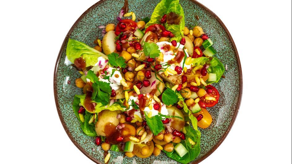 Chana Chaat Chickpea Salad