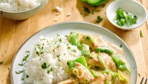 Filet z kurczaka z warzywami
