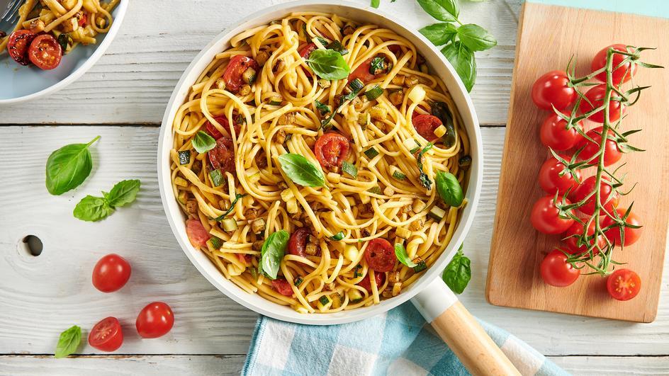 One pot pasta aux tomates cerise