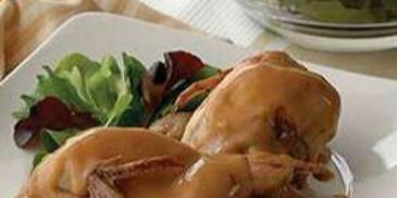 Poche-Grille Quails with Plum Sauce