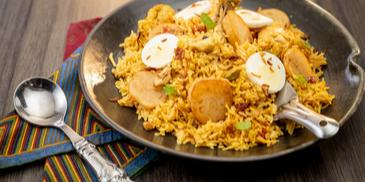 Kolkata Style Chicken Biryani Recipe