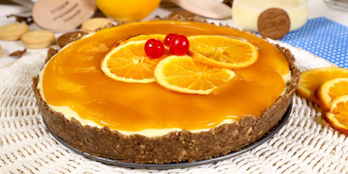 Tarta de Naranja Piña