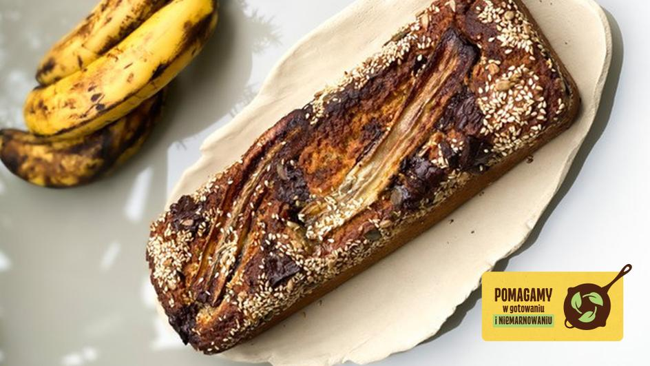 Chlebek bananowy z czekoladą