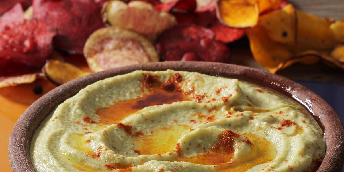 Crema Tipo Hummus de alcachofas
