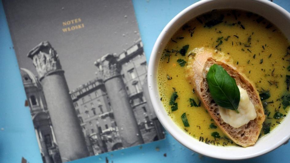 Rzymska ziołowa zupa wielkanocna