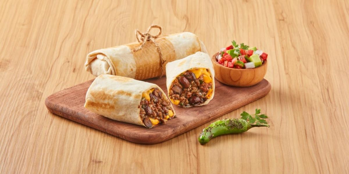 Burritos de carne molida