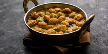 Soya Nuggets Curry Recipe