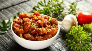 Chilli Soya Nuggets Recipe