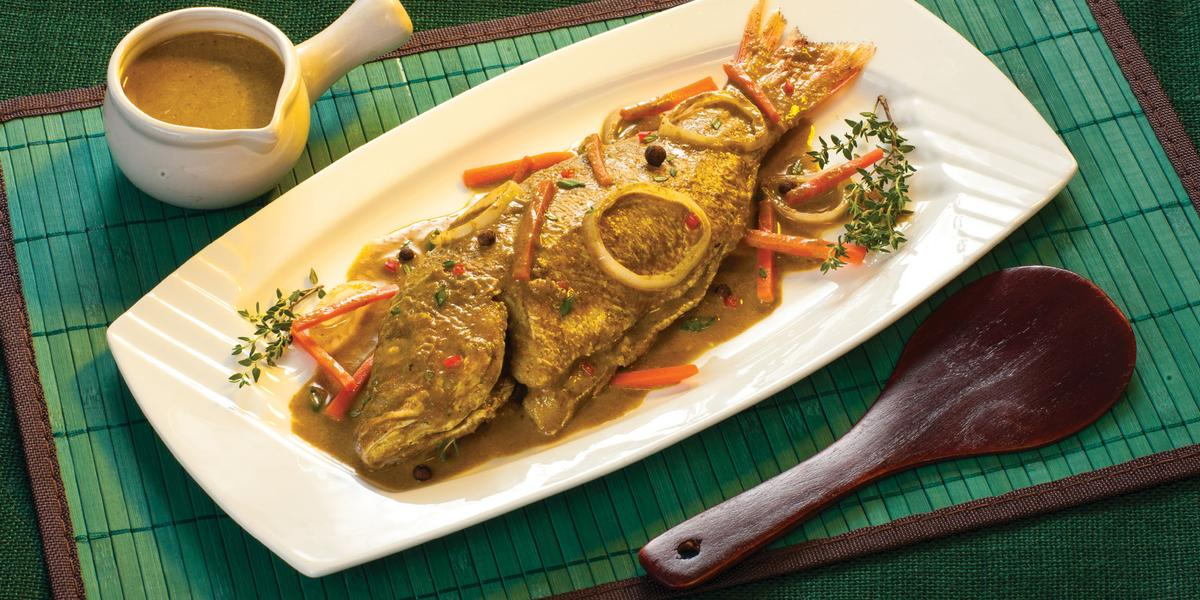 Curried Snapper