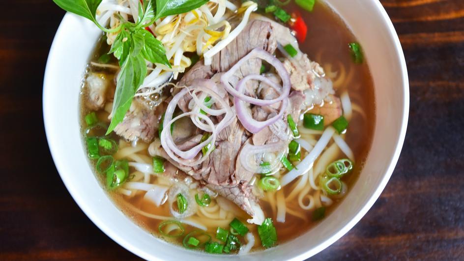 Supa Pho cu noodles