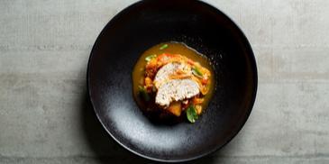 Paprikų troškinys Peperonata su vištiena
