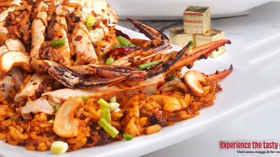 Chilli Crab Fried Rice