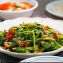 Fried Kangkung Belacan