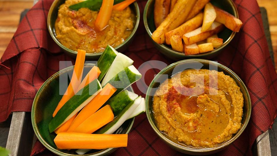 Sauce haricot et ses ignames frits