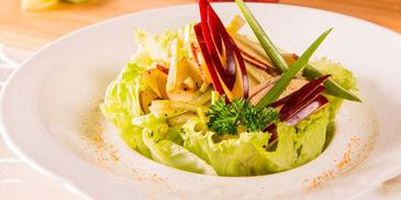 Apple & Celery Salad with Curry Vinaigrette