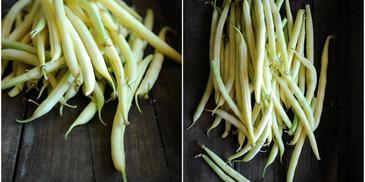 Zupa krem z fasolki szparagowej i pietruszki