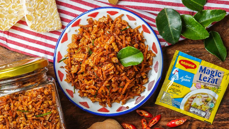 resep sambal goreng kering tempe kentang resep tempe orek kering masak dulu  makan nasi Resepi Tumpeng Nasi Kuning Enak dan Mudah