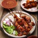 Grilled Rendang Sate Combo