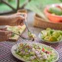 Kadazan-Dusun Raw Fish Salad