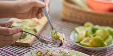 Kadazan-Dusun Raw Fish Salad