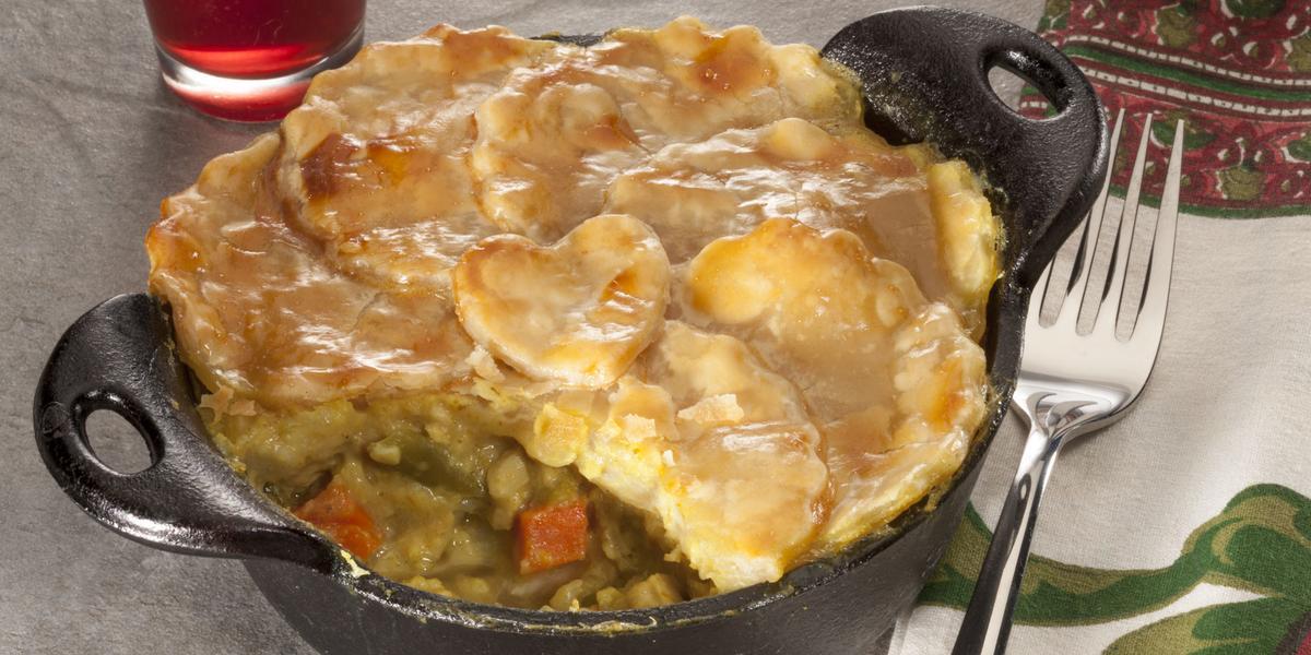 Curried Chicken Potpie