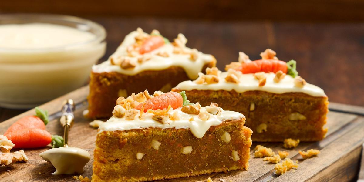 Carrot Cake sin Lactosa