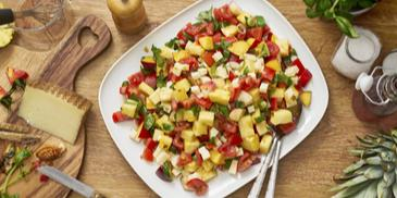 Fruchtiger Tomatensalat