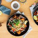 Gebratene Nudeln Thai Style