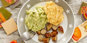 Buntes Kartoffelpüree