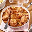 Schweinemedaillons mit Orangen-Cranberry-Sauce