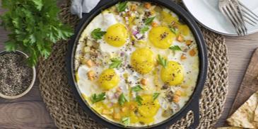 Carrot & Potato Egg Fry