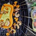 Azjatyckie szaszłyki z sosem curry