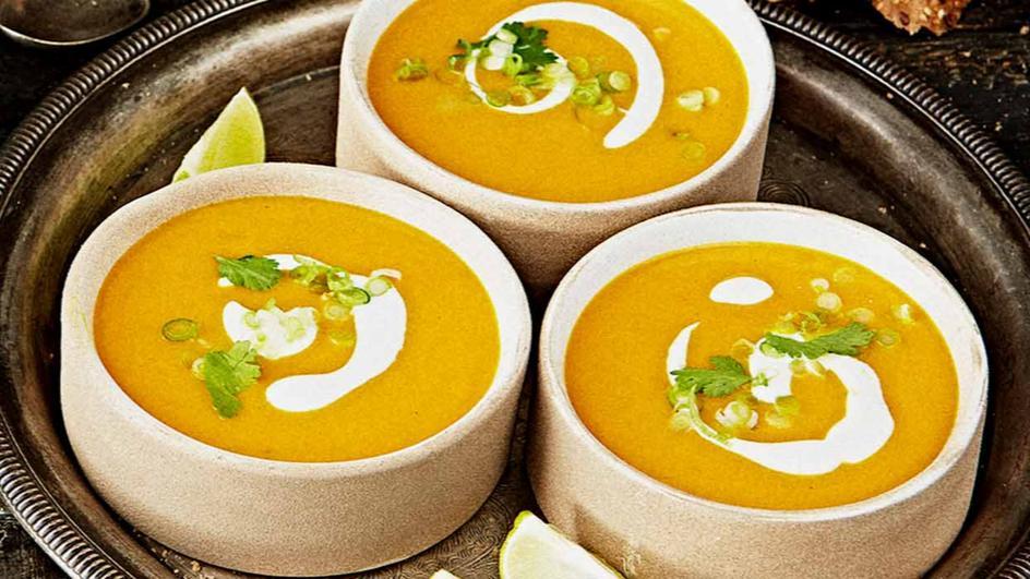 Curried Pumpkin Coconut Soup
