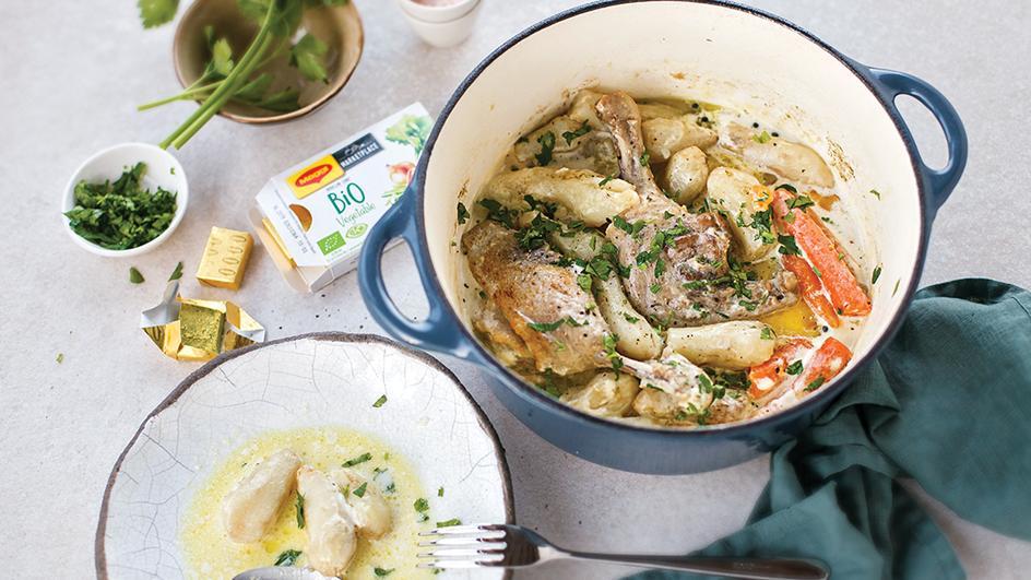 Antienos, bulvių ir morkų troškinys