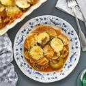 Zucchini-Champignon Moussaka