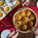 Steamed Golden Prawn Dumpling