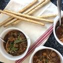 Tomaten groenten soep van Racha, Florysch-Thobyaz en Mattheyz-Ferdynand