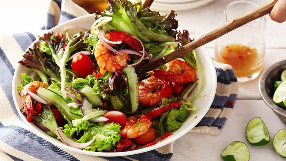 Salad Tomyam Udang