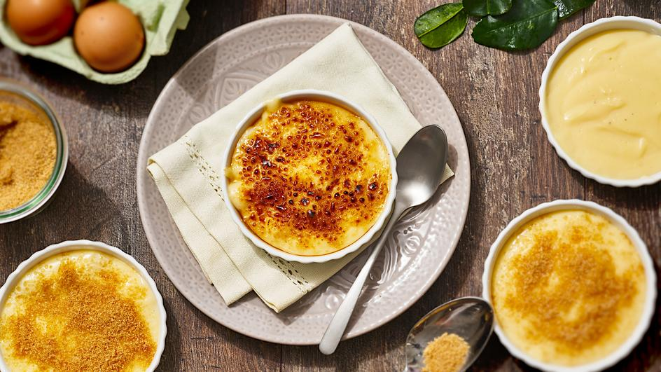 Zitronengras-Crème-Brûlée